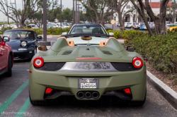 FERRARI 458 green