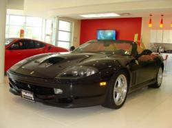 FERRARI 550 BARCHETTA black