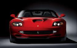 FERRARI 550 BARCHETTA red