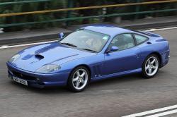 FERRARI 550 blue