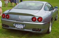 FERRARI 550 brown