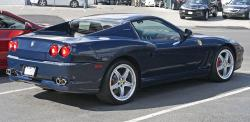 FERRARI 575 SUPERAMERICA blue