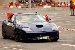 Leiria, Portugal - April 22: Valter Gomes Drives A Ferrari 575 Maranello During Day Three Of Rally V by CoisaX