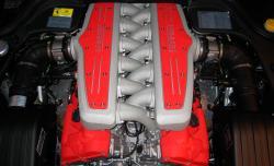 FERRARI 599 GTB FIORANO engine