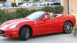 FERRARI CALIFORNIA red