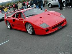 FERRARI F40 brown