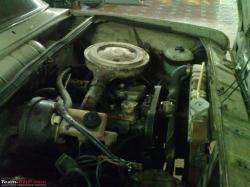 FIAT 125 engine