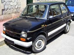 FIAT 126 black