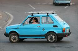 FIAT 126 blue