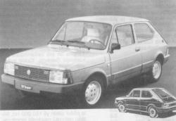 FIAT 127 1.3 interior