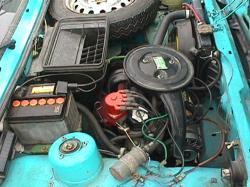 FIAT 127 engine