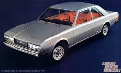 FIAT 130 COUPE silver