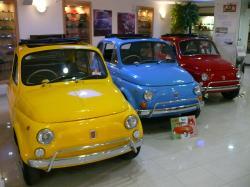 FIAT 500 1.2 blue