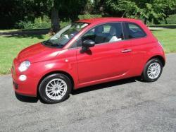 FIAT 500 1.2 red