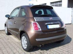 FIAT 500 brown