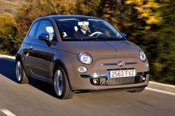 FIAT 500C brown