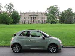 FIAT 500C green