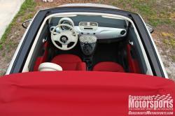 FIAT 500C silver
