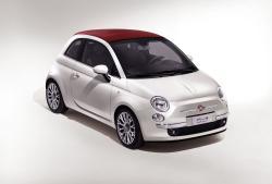 FIAT 500C white