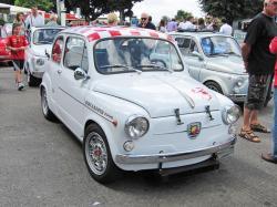 FIAT 600 ABARTH blue