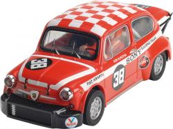 FIAT 600 ABARTH red