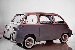 FIAT 600 silver