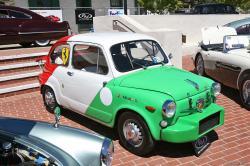 FIAT 850 BERLINA green