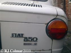 FIAT 850 white