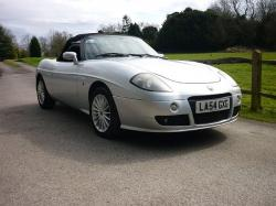 FIAT BARCHETTA 1.8 blue
