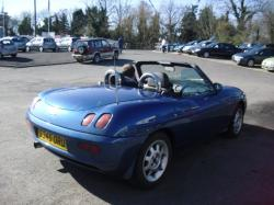 FIAT BARCHETTA blue