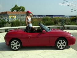 FIAT BARCHETTA red