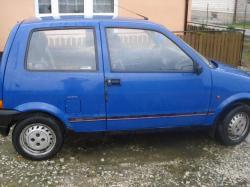 FIAT CINQUECENTO blue