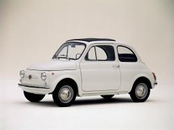 FIAT CINQUECENTO brown