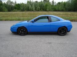 FIAT COUPE blue