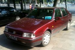 FIAT CROMA red