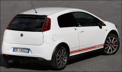 FIAT GRANDE PUNTO white
