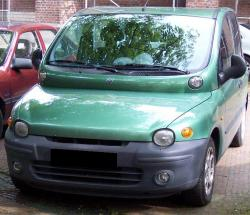 FIAT MULTIPLA green