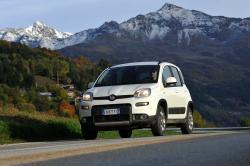 FIAT PANDA 4X4 white
