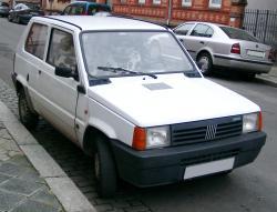 FIAT PANDA white