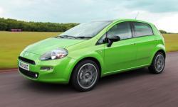 FIAT PUNTO green