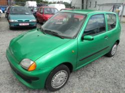 FIAT SEICENTO green