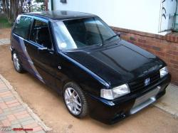FIAT UNO 1.0 black
