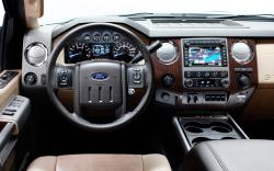 FORD 250 interior