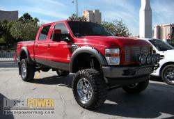 FORD 250 red