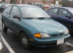 FORD ASPIRE green