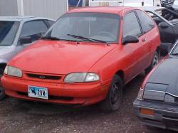 FORD ASPIRE red
