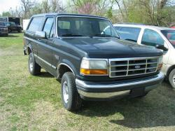 FORD BRONCO black
