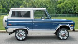 FORD BRONCO blue