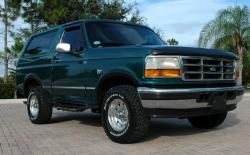 FORD BRONCO green