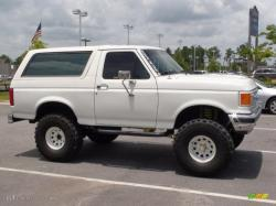 FORD BRONCO white
